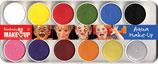 Описание: Набор красок для лица (12 цветов)