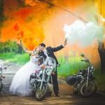 Цветной дым в Йошкар Оле