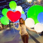 Купить шары с подсветкой