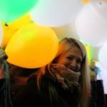 Воздушные шары с подсветкой